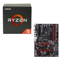 AMD Ryzen 5 1600X, Gigabyte GA-AB350-Gaming CPU/Motherboard Bundle
