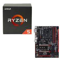 AMD Ryzen 5 1600, Gigabyte GA-AB350-Gaming 3 CPU/Motherboard Bundle