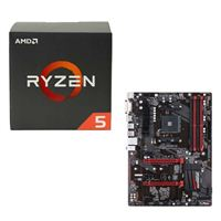 AMD Ryzen 5 1600, Gigabyte GA-AB350-Gaming CPU/Motherboard Bundle