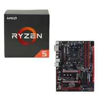 AMD Ryzen 5 1500X, Gigabyte GA-AB350-Gaming 3 CPU/Motherboard Bundle