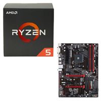 AMD Ryzen 5 1400, Gigabyte GA-AB350-Gaming CPU/Motherboard Bundle
