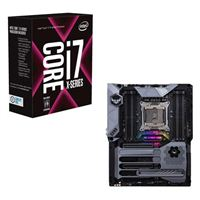 Intel Core i7-7820X, ASUS TUF X299 MARK I CPU/Motherboard Bundle