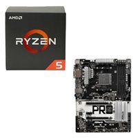 AMD Ryzen 5 1600, ASRock AB350 Pro4 CPU/Motherboard Bundle