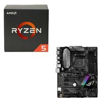 AMD Ryzen 5 1600, ASUS ROG STRIX B350-F Gaming CPU/Motherboard Bundle