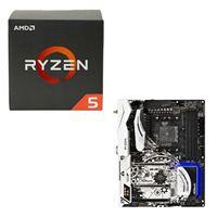 AMD Ryzen 5 1600, ASRock X370 Taichi CPU/Motherboard Bundle