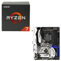 AMD Ryzen 1700 Wraith, ASRock X370 Taichi CPU/Motherboard Bundle