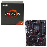 AMD Ryzen 1700X, ASUS PRIME B350-PLUS CPU/Motherboard Bundle