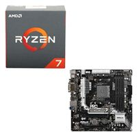 AMD Ryzen 7 1800X, ASRock AB350M Pro4 CPU/Motherboard Bundle