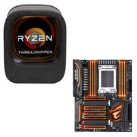 AMD Ryzen Threadripper 1900X, Gigabyte X399 AORUS Gaming 7 CPU/Motherboard Bundle
