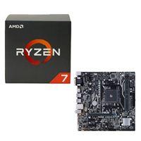 AMD Ryzen 1700X, ASUS Prime A320M-K CPU/Motherboard Bundle