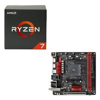AMD Ryzen 1700X, ASRock Fatal1ty AB350 Gaming CPU Motherboard Bundle