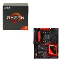 AMD Ryzen 1700X, ASRock Fatal1ty X370 Gaming K4 CPU/Motherboard Bundle