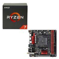 AMD Ryzen 7 1800X, ASRock Fatal1ty AB350 Gaming CPU...