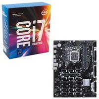 Intel Core i7-7700K, ASUS B250 Mining Expert CPU/Motherboard Bundle