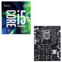 Intel Core i5-7600K, ASUS B250 Mining Expert CPU/Motherboard Bundle