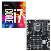 Intel Core i7-7700, ASUS B250 Mining Expert CPU/Motherboard Bundle