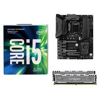 Intel i7-7700K, MSI Z270 Gaming M5, Crucial Ballistix 16GB RAM, Computer Build Bundle