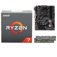 AMD Ryzen 1800X, MSI B350 Tomahawk, Crucial Ballistix 8GB RAM, Computer Build Bundle