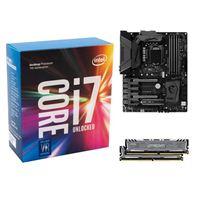 Intel i7-7700K, MSI Z270 Gaming M5, Crucial Ballistix 16GB RAM, Samsung 960 PRO 512GB M.2 SSD, Computer Build Bundle