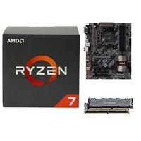 AMD Ryzen 1700X, MSI B350 Tomahawk, Crucial Ballistix 16GB RAM, Samsung 960 PRO 512GB M.2 SSD, Computer Build Bundle