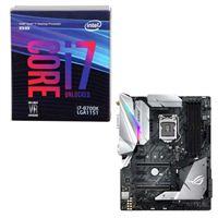 Intel Core i7-8700K, ASUS ROG Strix Z370-E Gaming, CPU/Motherboard Bundle