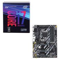 Intel Core i7-8700K, Gigabyte Z370 HD3, CPU/Motherboard Bundle