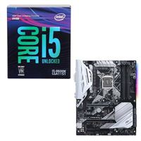 Intel Core i5-8600K, ASUS Prime Z370-A, CPU/Motherboard...