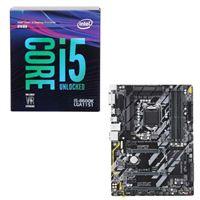 Intel Core i5-8600K, Gigabyte Z370 HD3, CPU/Motherboard...