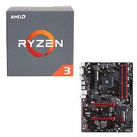 AMD Ryzen 3 1300X, Gigabyte GA-AB350-Gaming CPU Motherboard Bundle