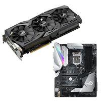 ASUS GeForce GTX 1080 ASUS ROG Strix Z370-E Gaming Video Motherboard Bundle