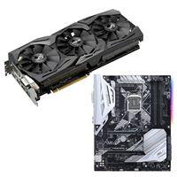 ASUS GeForce GTX 1080 ASUS Prime Z370-A Video Motherboard Bundle