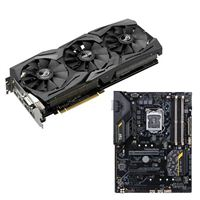 ASUS GeForce GTX 1080 ASUS TUF Z270 Mark 2 Video Motherboard Bundle