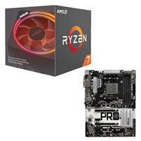 AMD Ryzen 7 2700X with Wraith Prism Cooler, ASRock AB350...