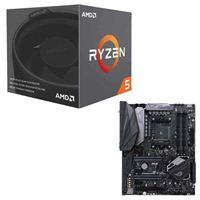 AMD Ryzen 5 2600X with Wraith Spire Cooler, ASUS ROG...