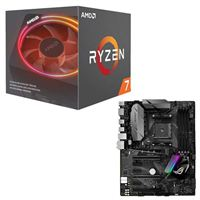 AMD Ryzen 7 2700X with Wraith Prism Cooler, ASUS ROG STRIX B350-F Gaming CPU/Motherboard Bundle