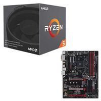 AMD Ryzen 5 2600 with Wraith Stealth Cooler, Gigabyte...