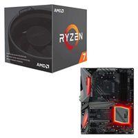 AMD Ryzen 7 2700 with Wraith Spire Cooler, ASRock X470 Gaming K4 CPU/Motherboard Bundle