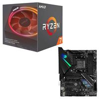 AMD Ryzen 7 2700X with Wraith Prism Cooler, ASUS ROG Strix...