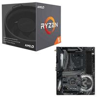AMD Ryzen 5 2600X with Wraith Spire Cooler, ASRock X470 Taichi CPU/Motherboard Bundle