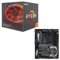 AMD Ryzen 7 2700X with Wraith Prism Cooler, ASRock X470...