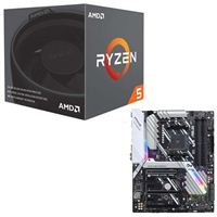 AMD Ryzen 5 2600 with Wraith Stealth Cooler, ASUS Prime X470-Pro CPU/Motherboard Bundle