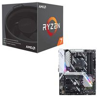 AMD Ryzen 7 2700 with Wraith Spire Cooler, ASUS Prime X470-Pro CPU/Motherboard Bundle
