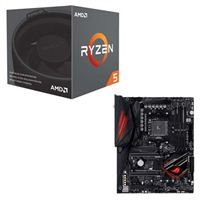 AMD Ryzen 5 2600 with Wraith Stealth Cooler, ASUS Crosshair...