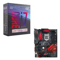 Intel Core i7-8086K Limited Edition, ASUS ROG STRIX Z370-H Gaming CPU/Motherboard Bundle