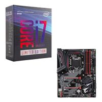 Intel Core i7-8086K Limited Edition, Gigabyte Z370 AORUS Gaming 3 CPU/Motherboard Bundle