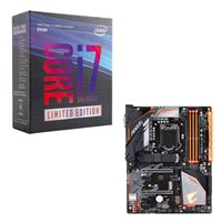 Intel Core i7-8086K Limited Edition, Gigabyte H370 AORUS Gaming 3 CPU/Motherboard Bundle