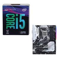 Intel Core i5-8400, ASUS PRIME Z370-A, CPU/Motherboard Bundle