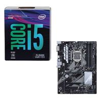 Intel Core i5-8400, ASUS PRIME Z370-P, CPU/Motherboard Bundle