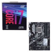 Intel Core i7-8700, ASUS PRIME Z370-P, CPU/Motherboard Bundle