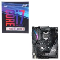 Intel Core i7-8086K Limited Edition, ASUS ROG STRIX Z370-F Gaming, CPU/Motherboard Bundle